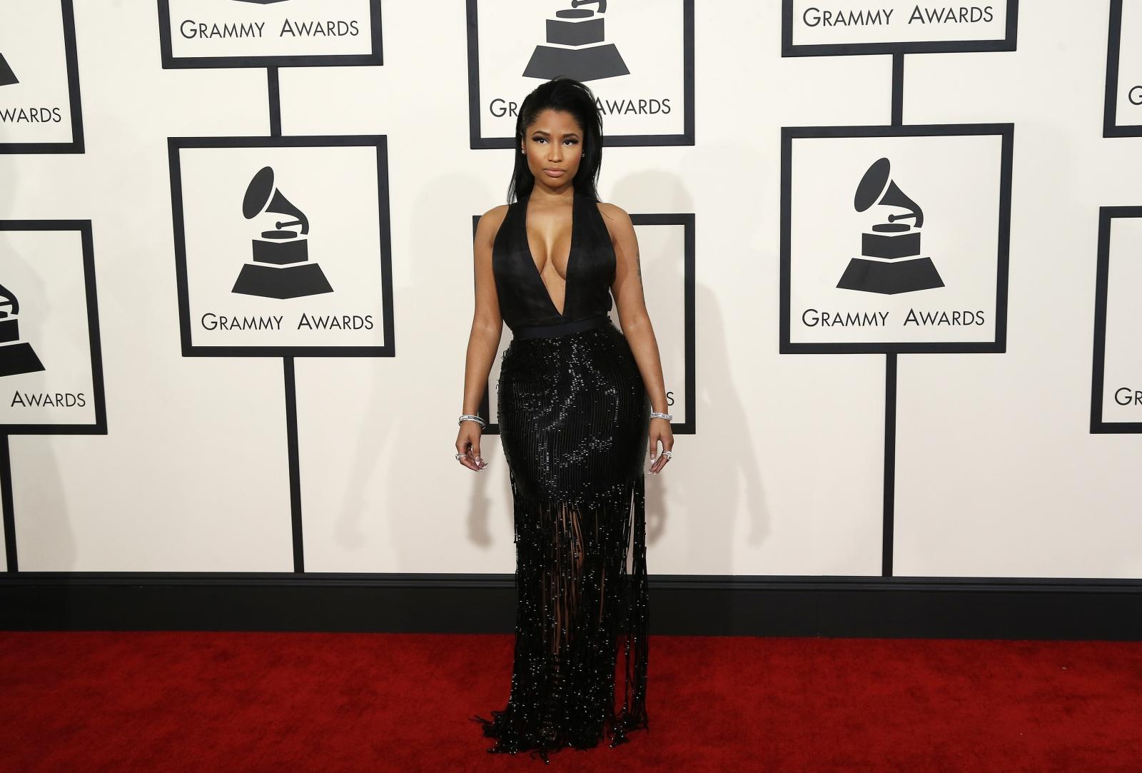 Nicki Minaj at Grammy awards 2015