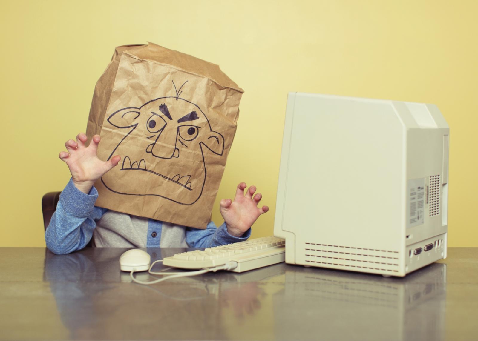 An internet troll