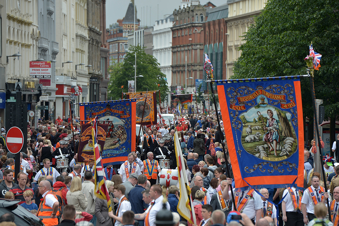 northern ireland glorious twelfth
