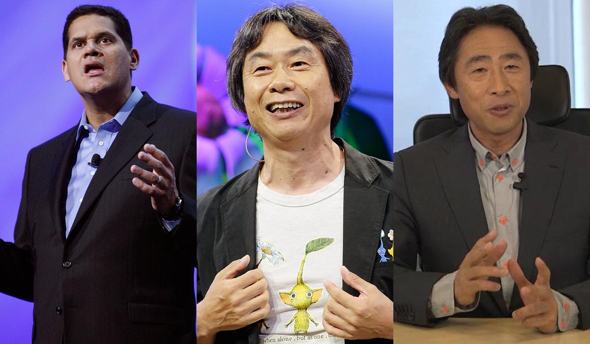 Nintendo Next President Reggie Miyamoto Shibata