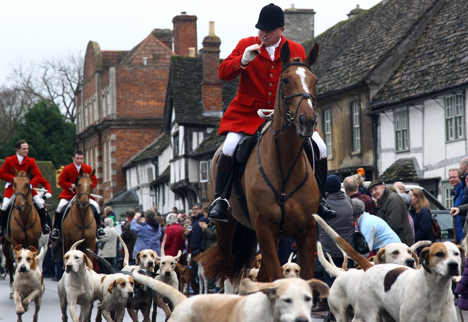 UK leader says she's prepared to allow a vote on fox hunting