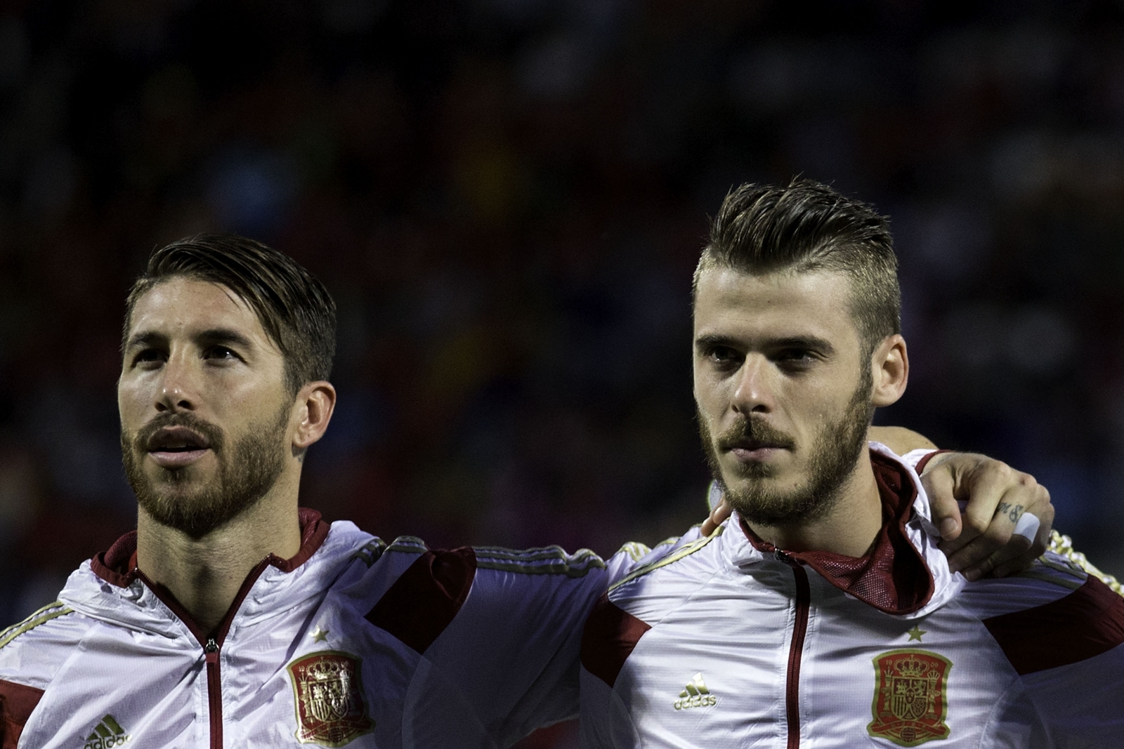 Sergio Ramos and David de Gea
