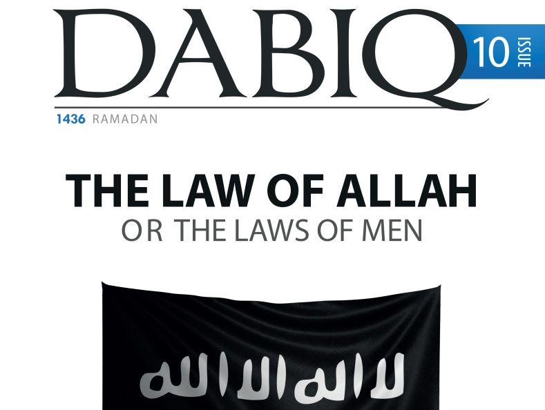 Isis magazine dabiq 10th issue