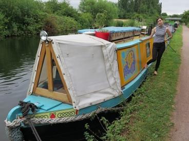 narrowboat canal london
