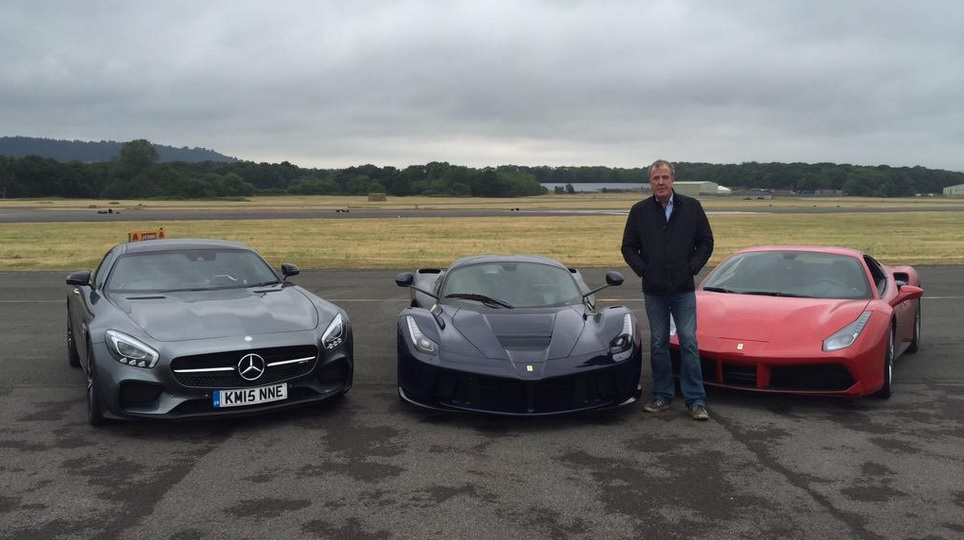Jeremy Clarkson's last Top Gear track lap