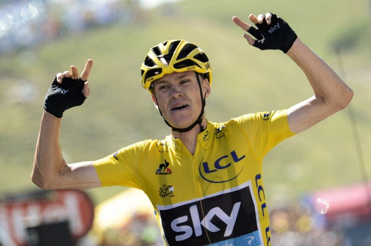 c74dc0926 Chris Froome Froome took a giant stride towards his second yellow jersey.  Getty Images