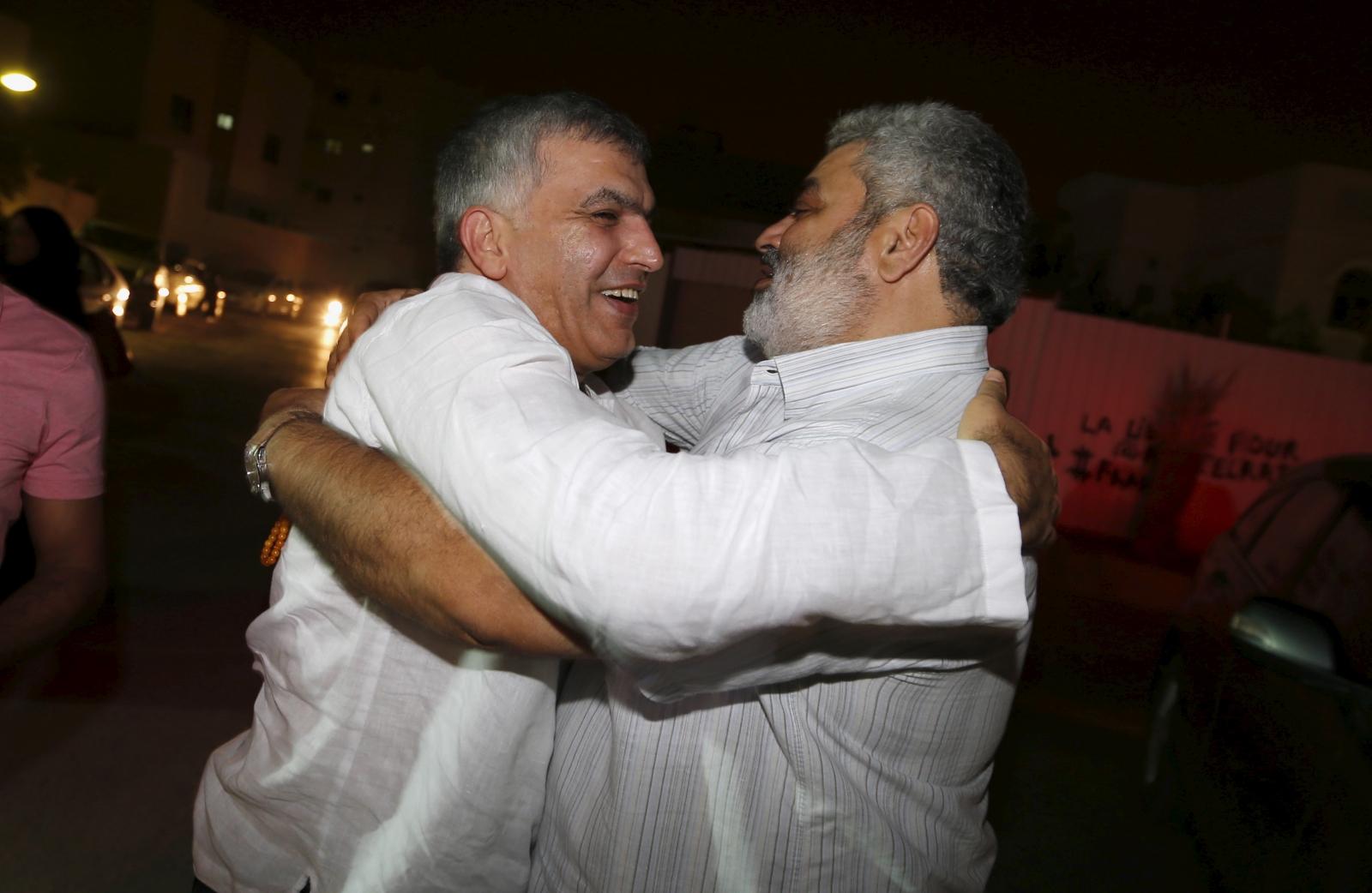 Nabeel Rajab pardoned