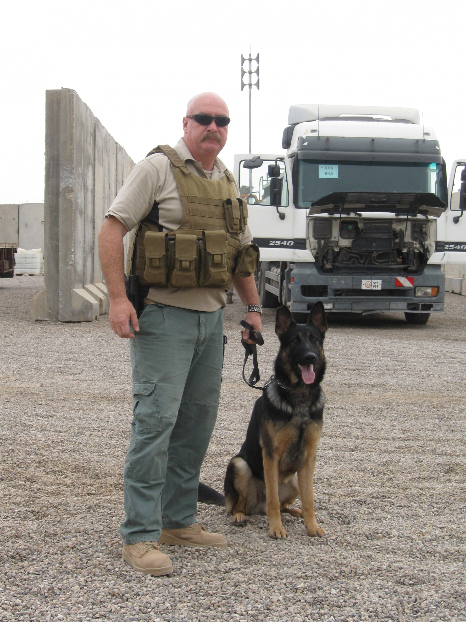 Tactical Detection K9 CEO Dennis Clark