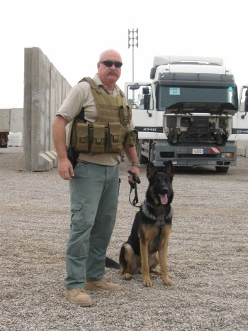 Tactical Detection K9 CEO Dennis Clark