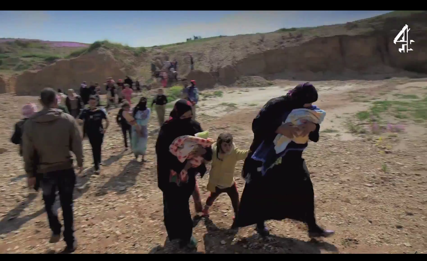 Isis In Iraq 34 Yazidi Sex Slaves Filmed Escaping From -9216