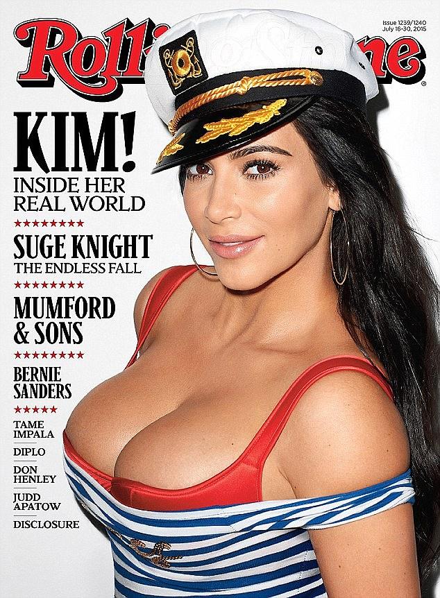 Kim Kardashian Rolling Stone
