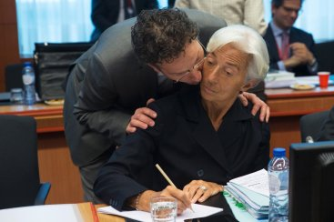 IMF report Greece debt crisis