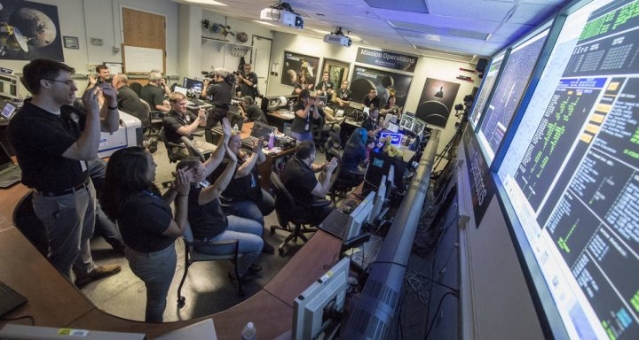 New Horizons mission control