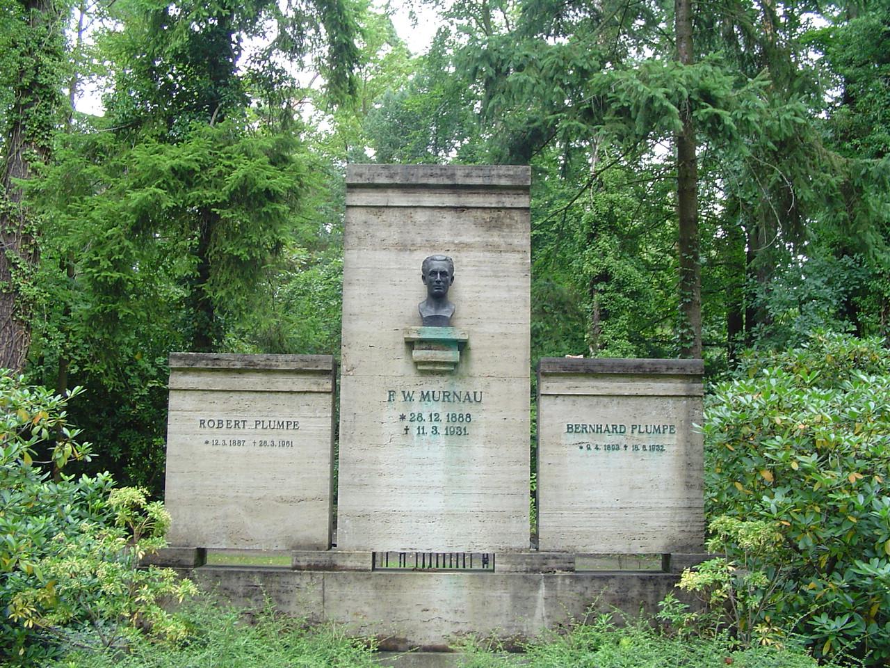 Grave of Friedrich Wilhelm Murnau