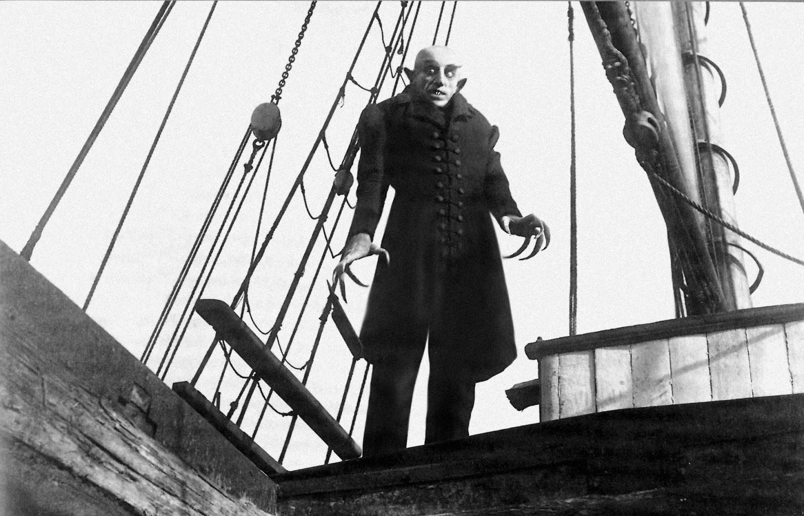 Max Schreck in Nosferatu directed