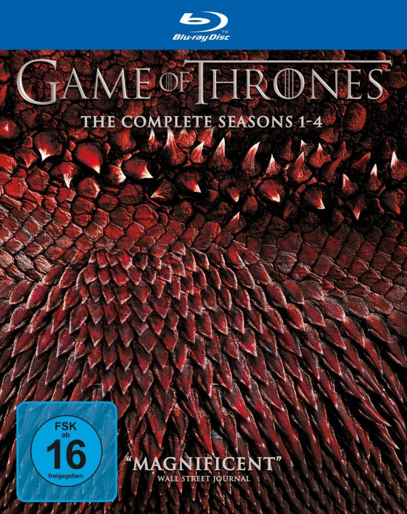 Game of Thrones Season 1-4 Blu-ray