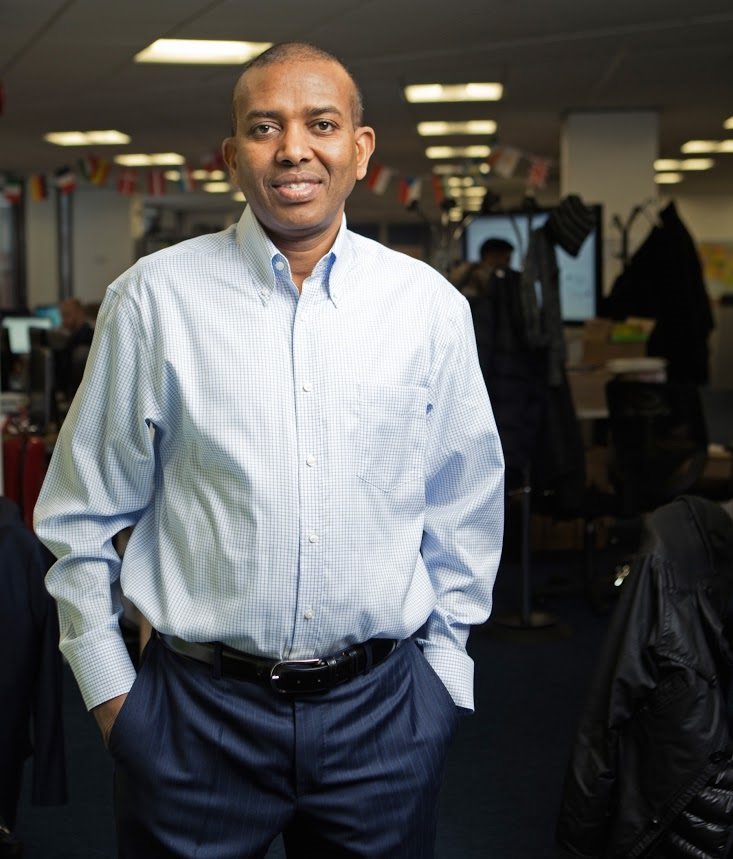 Dr Ismail Ahmed, founder and chief executive