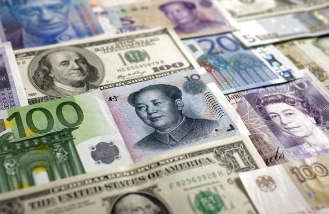 Major global currencies