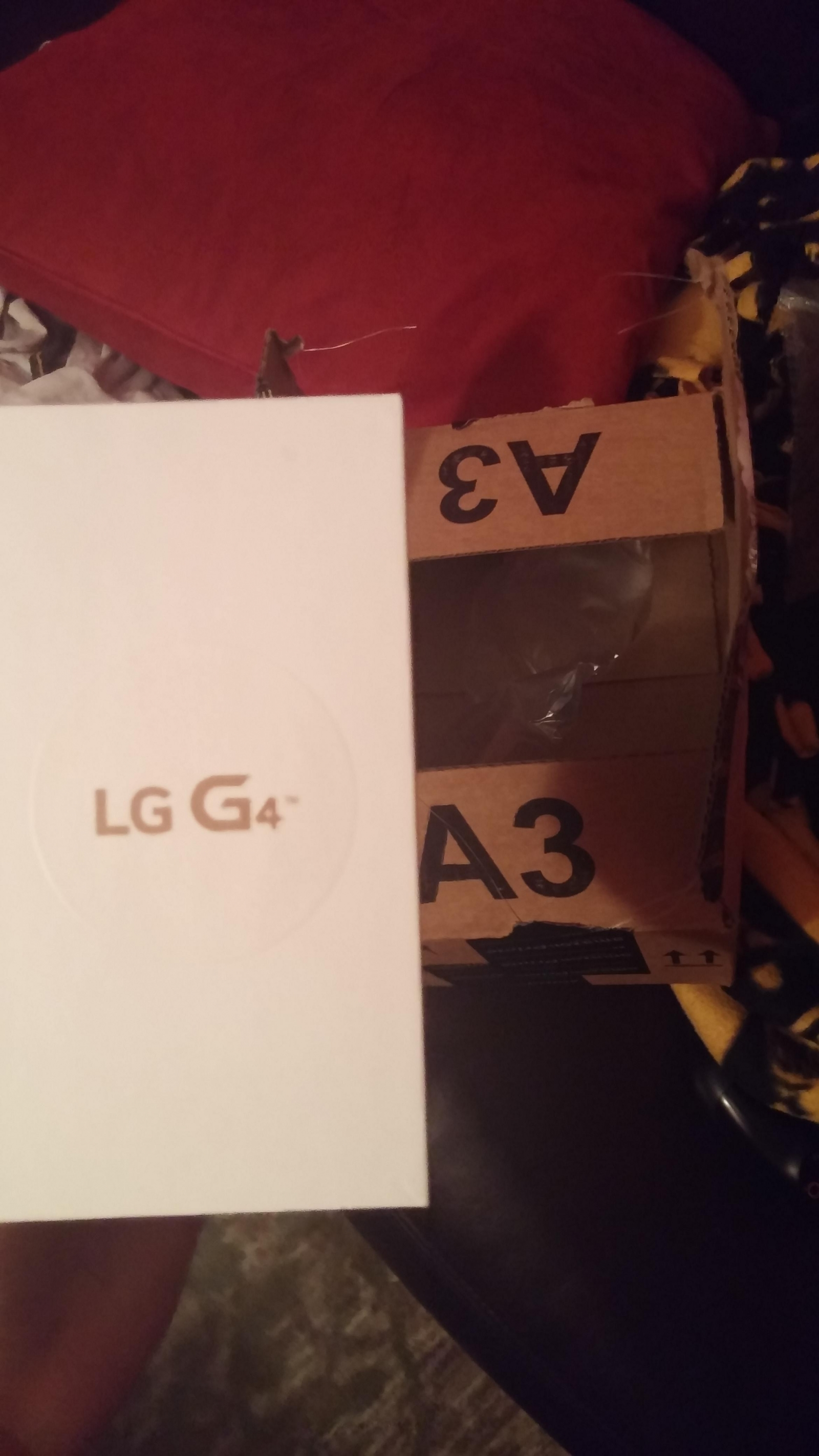 User the-end receives LG G4 from Amazon