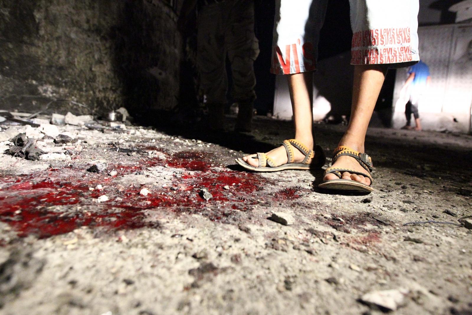Benghazi blood