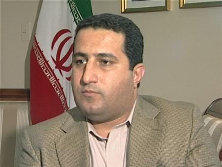 A man identifying himself as Shahram Amiri,