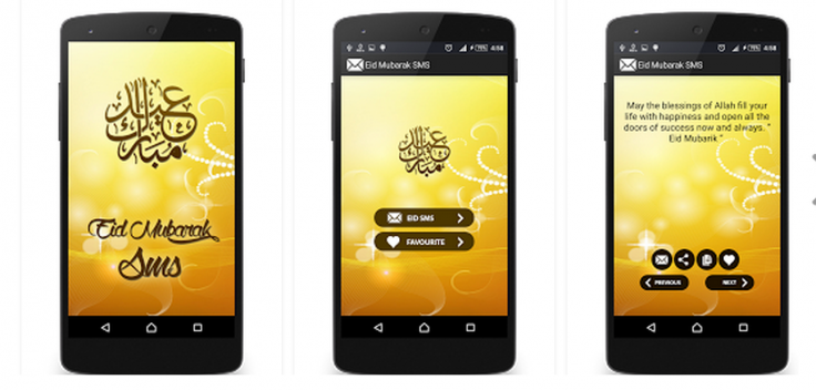 Eid al-Fitr 2015 best apps iphone android
