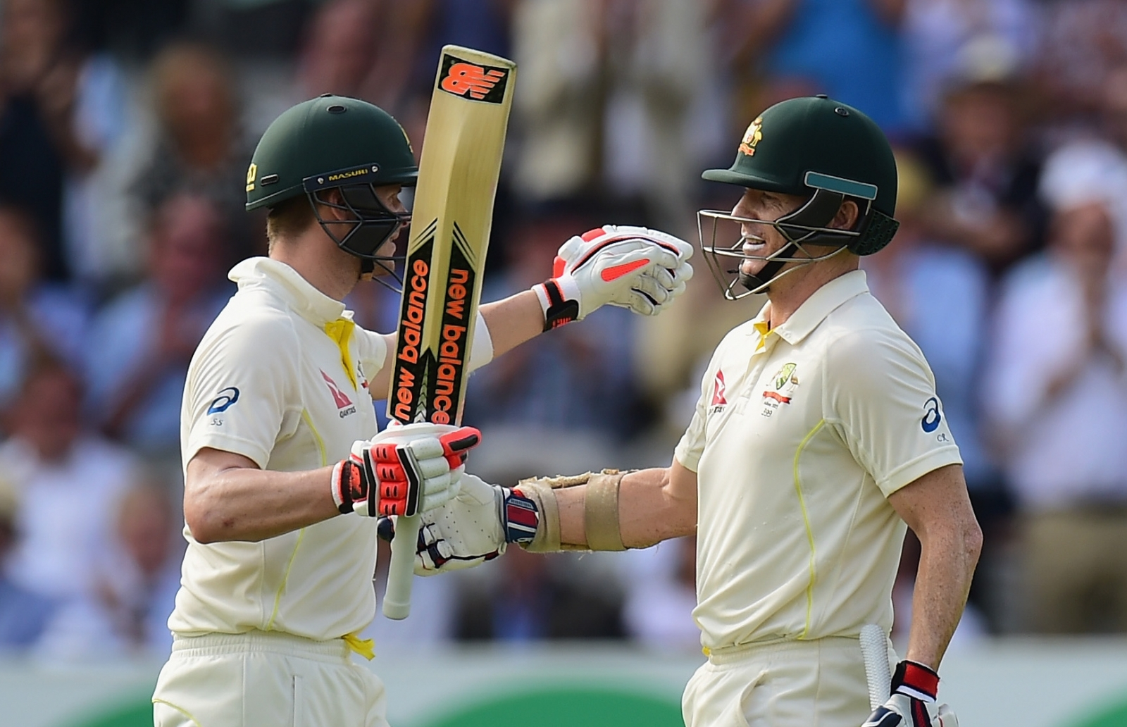 Chris Rogers and Steven Smith