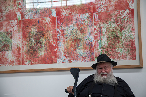 Austrian artist Hermann Nitsch