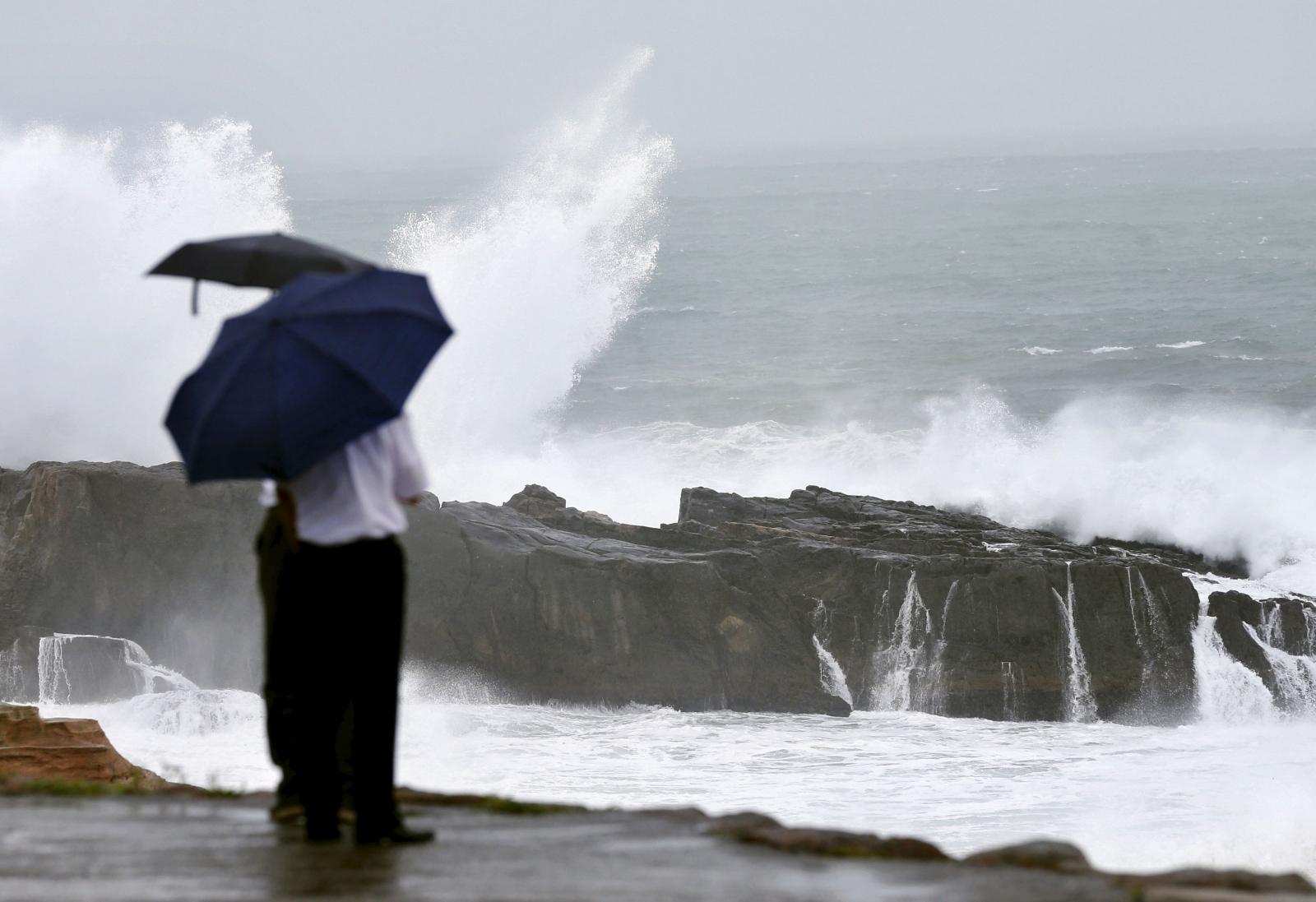 Typhoon Nangka Japan