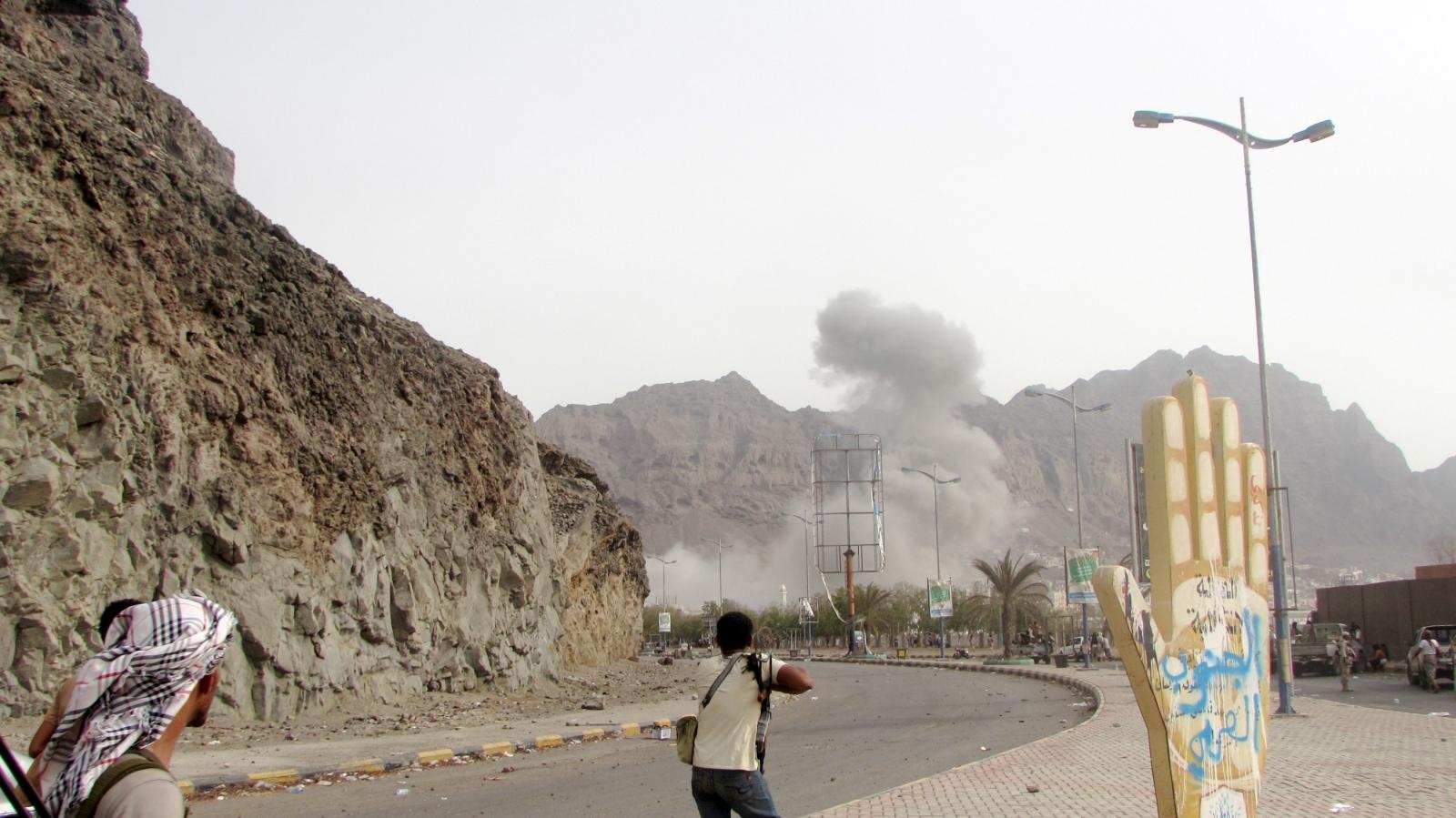 Aden fighting  Yemen