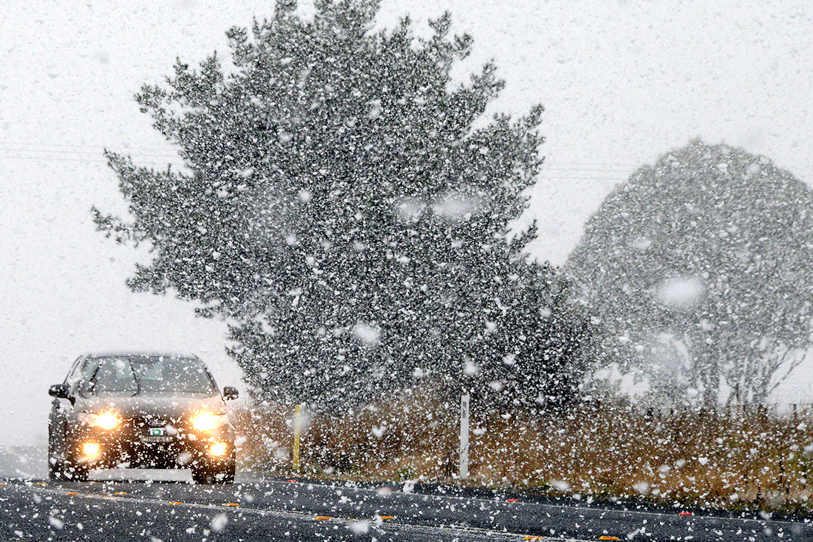 snow australia