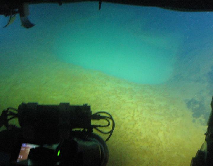 Aegean Sea CO2 Opalescent pools