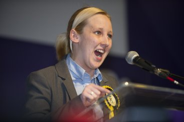 SNP MP Mhairi Black