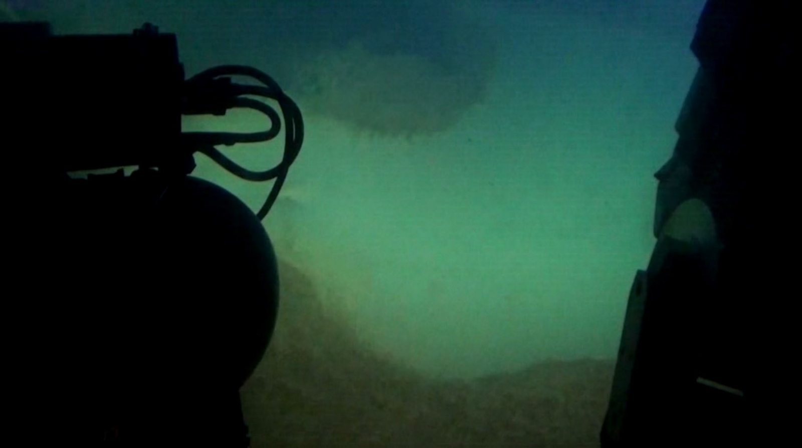 CO2 pools under water