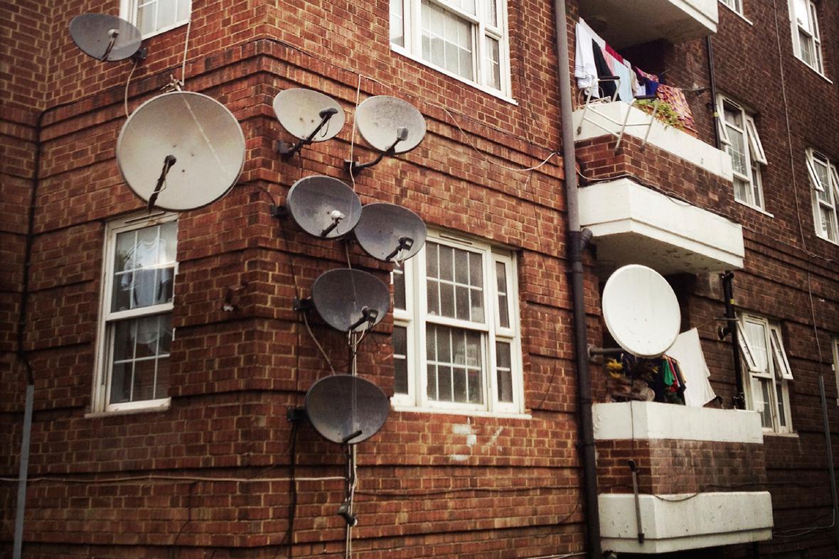 council flat london rent poverty