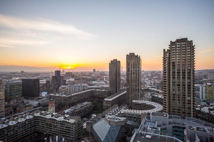 barbican london skyscrapers tower blocks