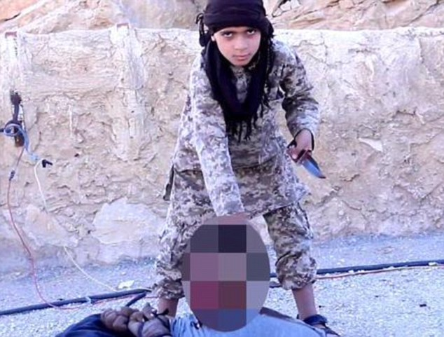Isis' child killers