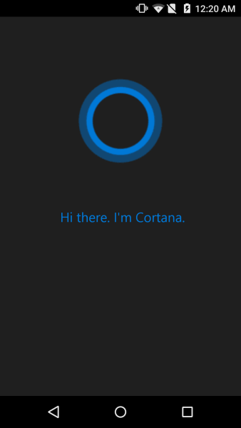 Microsoft Cortana App For Android Leaks Ahead Of Official Release Apk Download