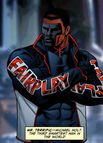 Mr Terrific DC Comics character
