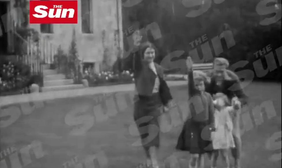 Queen Nazi Salute