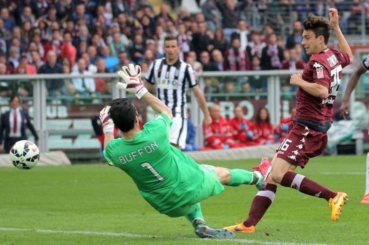 Matteo Darmian v Juventus