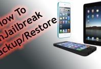 How to unjailbreak iPhone, iPad