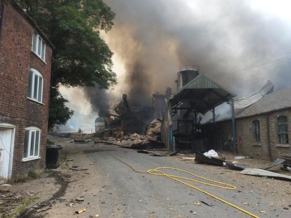 Bosley flour mill explosion
