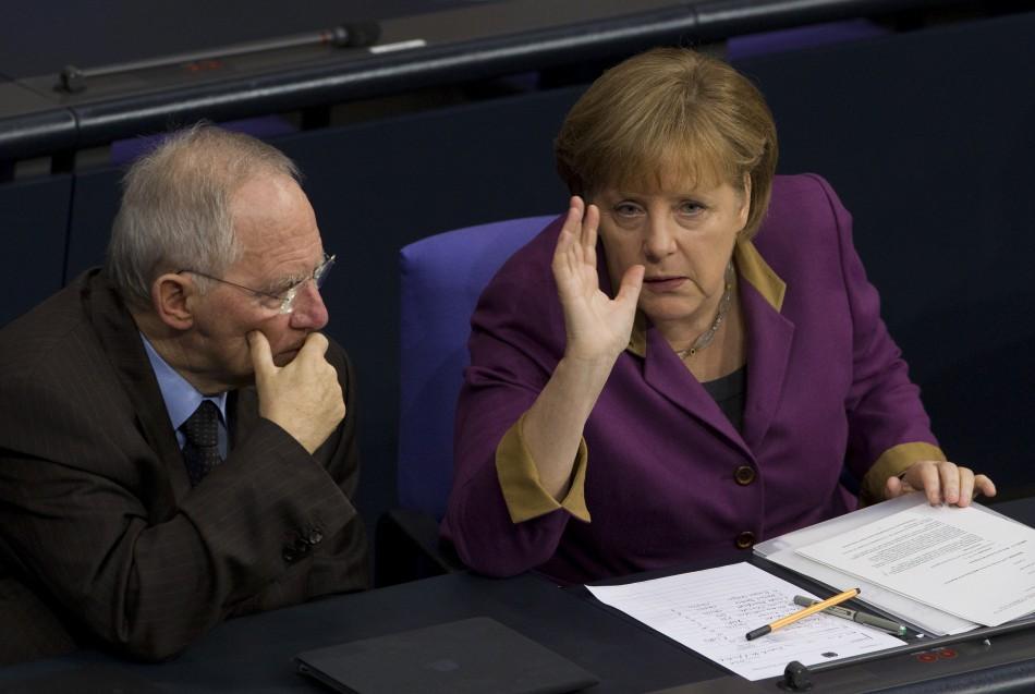 Angela Merkel & Wolfgang Schäuble