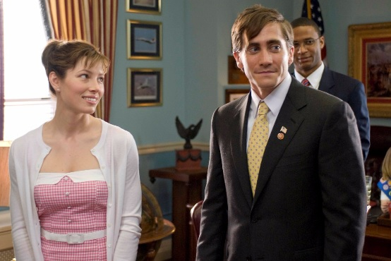 Jessica Biel Jake Gyllenhaal in Accidental Love