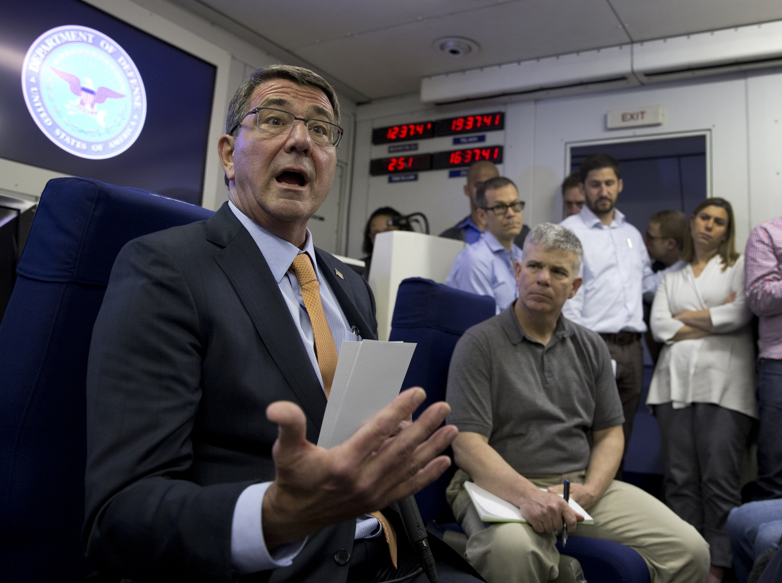 US Defence Secretary Ashton Carter
