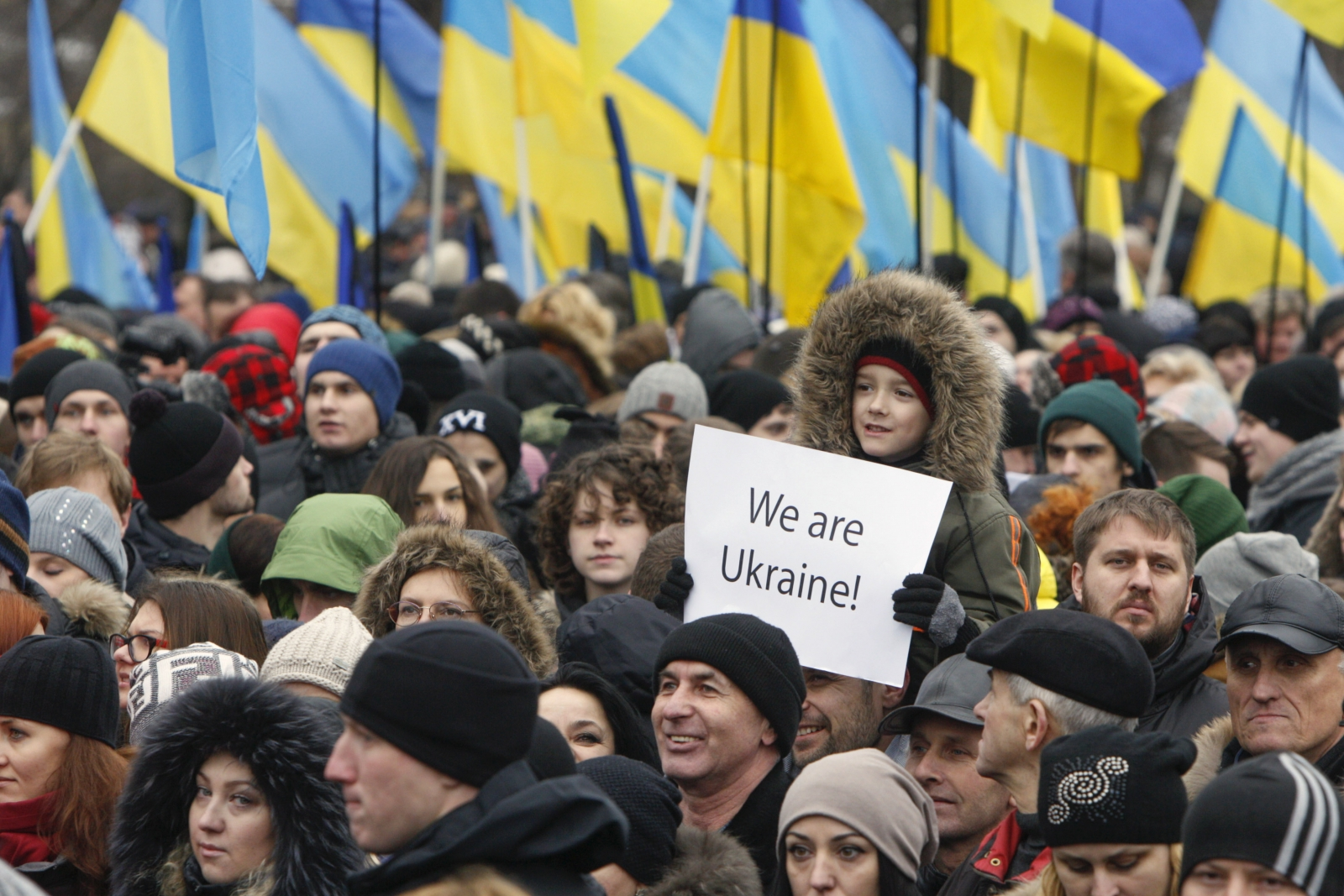 Ukraine conflict Russia sanctions protest