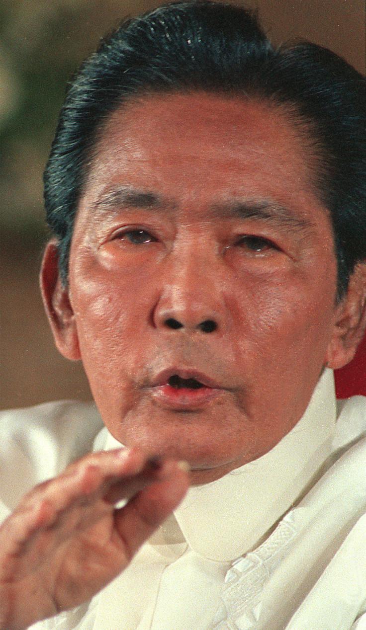 Filipino dictator Ferdinand Marcos