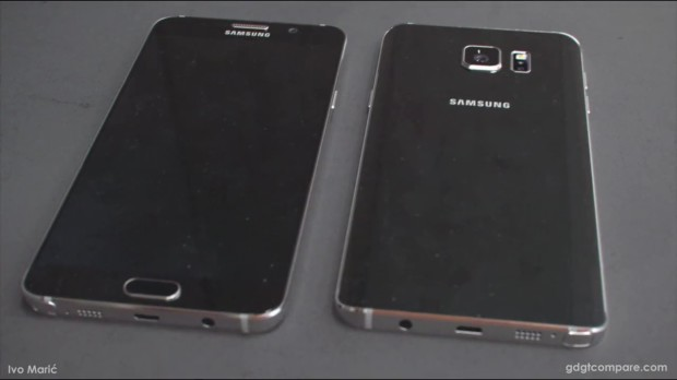 Leaked images of Samsung galaxy Note 5