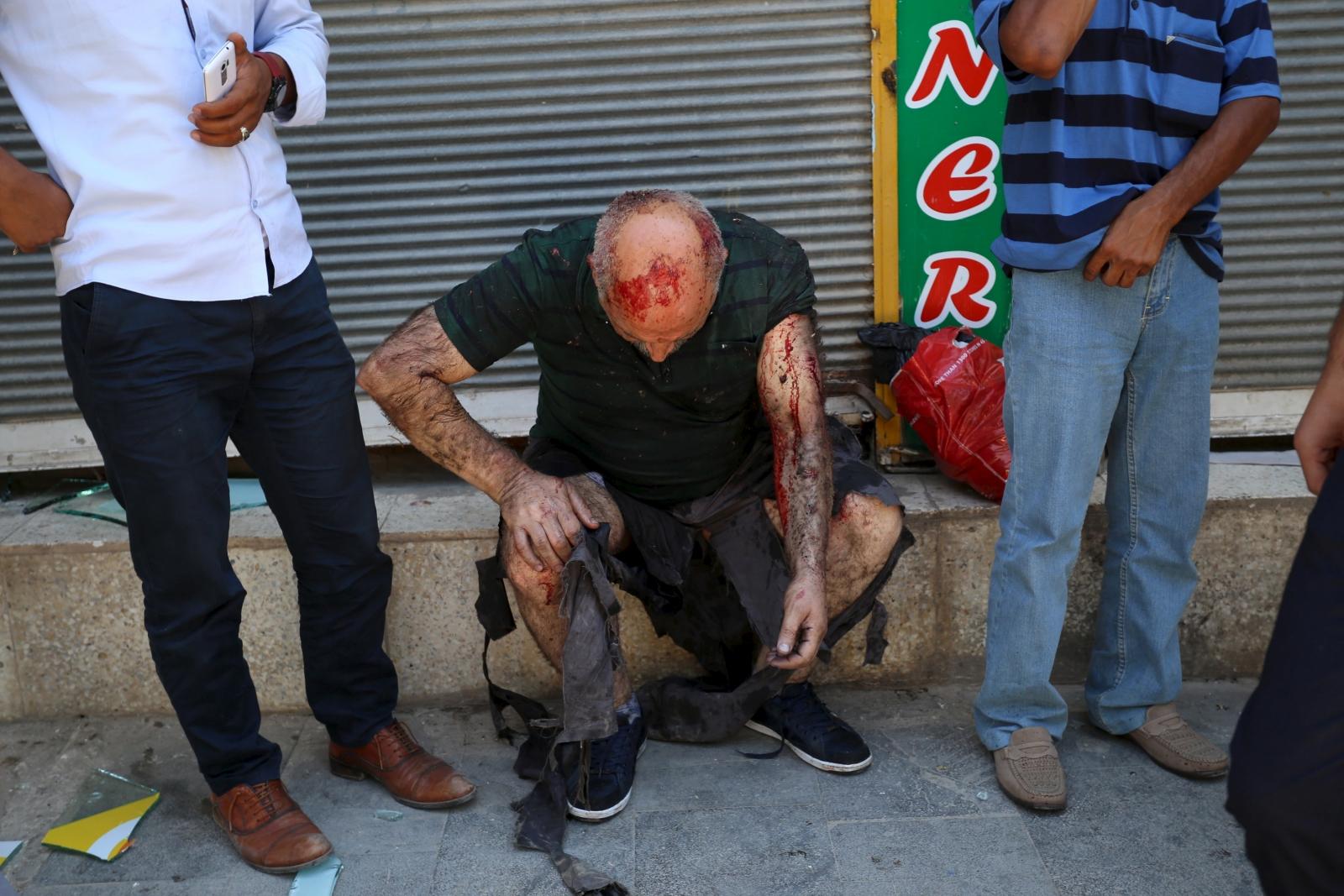 Suruc explosion Turkey
